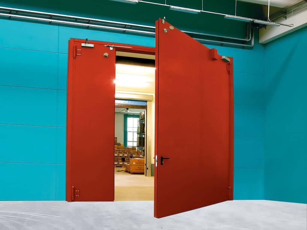 дверь металлическая входная для складских помещений