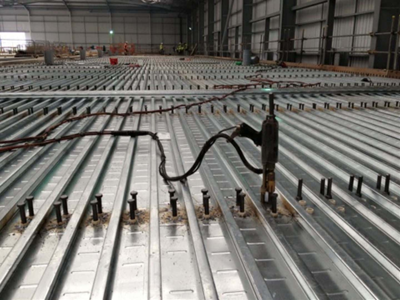 Steel Decking Slab : Unique steel